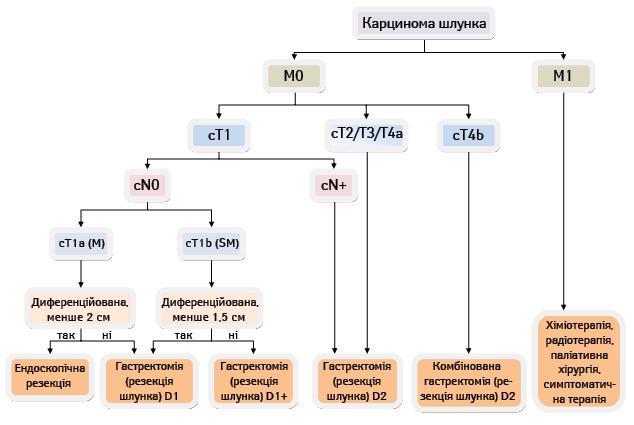 D2 лімфодисекція: нашляху доімплементації вєвропейській популяції хворих нарак шлунка (огляд літератури)