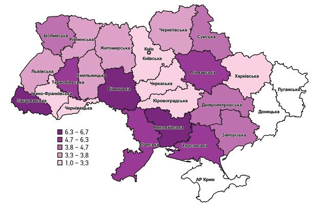 Злоякісні новоутворення вдитячій популяції України— досвід застосування міжнародної класифікації ICCC 3
