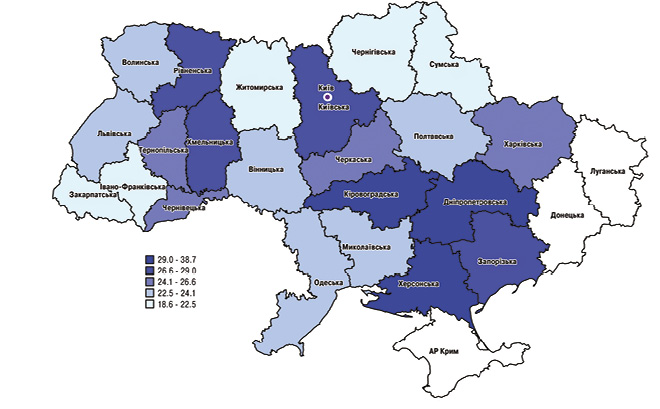 Епідеміологічні передумови доцільності впровадження скринінгу колоректального раку в Україні